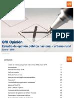 GfK OP Enero 2016 - Elecciones