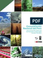 Segunda Comunicacion Nacional Sobre Cambio Climático 2010