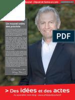 Des idées et des actes-Journal de Philippe BAUMEL, Député de Saône-et-Loire ( Janvier-février 2016)