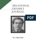 International Gramsci Journal, No.3, March 2011 -IGJ3