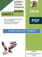 3 Ejemplos en Haskell