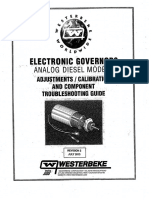 Electronic Governor Troubleshooting Guide - Non-digital Diesel