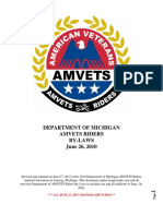 by-laws amvets riders dept of mi  3