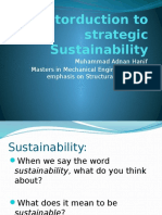 Intro to Strategic Sustainability