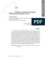 Mosquera, A. Apuntes de Lenguaje y Comunicación en Formato Electrónico Para Estudiantes de LUZ