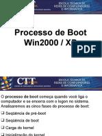 Sistemas Operacionais - Aula 2 - Processo de Boot - Win2000-Xp