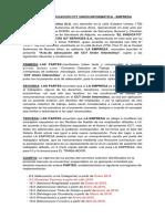 Acta de adecuacion de Connectis al Convenio Colectivo de Trabajo de la Unión Informática