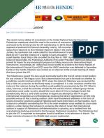 Moderation UNSC USIsareal- The Hindu Mobile Edition