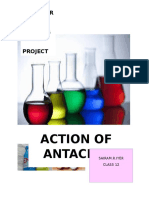 PROJECT ON ANTACIDS CBSE CHEM