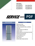 Samsung Rl23-25-28 dats Datw service manual