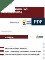 Presentación Mineducación sobre Licenciaturas #UdeCaldas