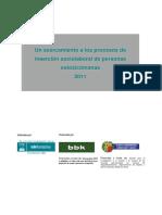 Procesos Insercion Sociolaboral Personas Extoxicomanas