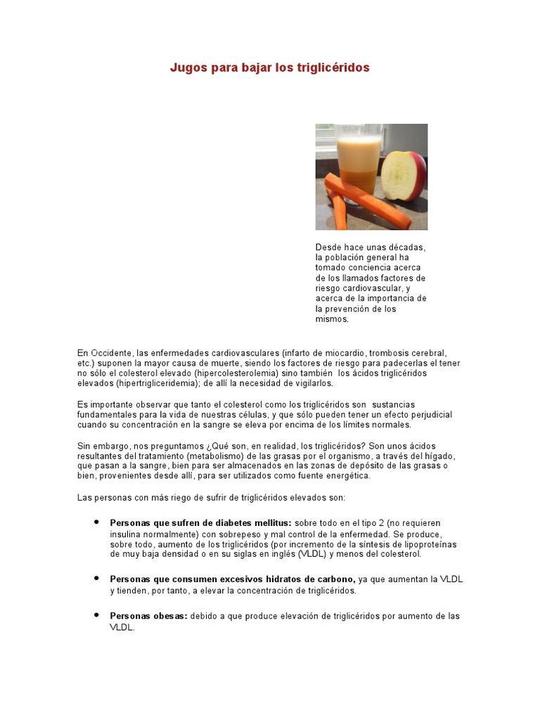 metabolismo de los triglicéridos de insulina y diabetes