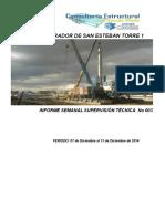 Informe Semanal M.S.E. - T1 No 003 C Estructural LGV