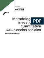 Metodologia Cuantitativa
