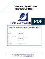 Informe Termografía - Aje Group Huachipa