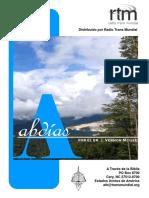 A Traves de la Biblia_Abdias