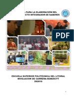 Guia Para La Elaboración Del Proyecto PISA