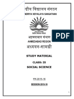 484757454sst - Study Material Class Ix Session 2015-16