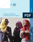 College Of Business Entrepreneurship Program