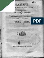 Almanaque 1852