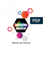 Manual Maestro Expresion Musical