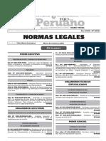 Normas Legales, martes 2 de febrero del 2016