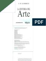 PDF. Intro. Historia del arte - Gömbrich