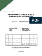 7EL 19 Instalación y Calibración Instrumentos