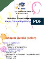Vapor-liquid Equilibrium (Vle)- Portal