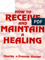 (Epub) How to Receive and Maintain a Healing - Charles & Frances Hunter