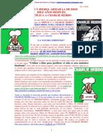 Dioses y Dioses. Armar La de Dios Diez Años Después. Réplica a Charlie Hebdo