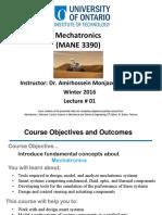 01 Mechatronics Lecture #1 Slides