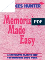(Epub) Memorizing Made Easy - Charles & Frances Hunter