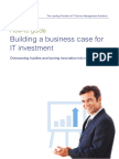GUIA - Building a Business Case for IT Investment