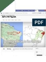 Mapa de Expansão Do Zika Virus No Nordeste Brasileiro