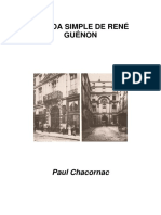 Chacornac, Paul-La Vida Simple de René Guénon