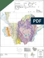 Mapa Geologico de Antioquia