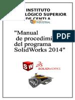 Manual de Procedimientos Solidworks