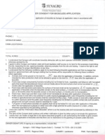 Synagro - Landowner Consent for Biosolids Application Form
