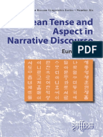 Korean Tense and Aspect in Narrative Discourse (sample)