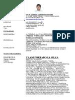 Curriculum Omar Para Banregio