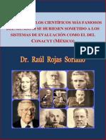 Reprobar Conacyt Cientificos Mexicanos Rojas Soriano