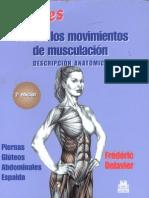 Guía de los movimientos de musculación. Descripción anatómica (Mujeres) [Frédéric Delavier] [2ª E