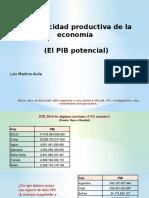 La Capacidad Productiva (PIB Potencial) (2)