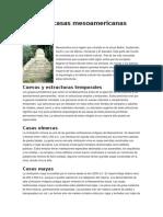 Antiguas Casas Mesoamericanas