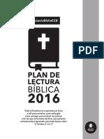 Plan Lectura Anual Bn