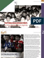 An Educational Reform Agenda