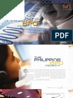 The Philippine BPO Industry (2012)