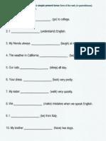 Review - Simple Grammar